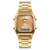 Skmei 1220 tango золотые мужские  часы, фото 1