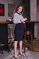 ЖІноа блуза з принтом. Р-ри 42-48