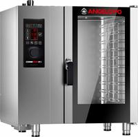 Пароконвектомат Angelo Po FX101E (под гастроемкости GN1/1 и противни 600х400 мм)