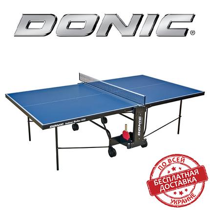 Теннисный стол для помещений Donic Indoor Roller 600, фото 2