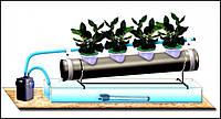 Выращивание на гидропонике. Приготовление питательного раствора.