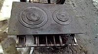 Плита чугунная дешовая земля 750*450