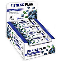 Протеиновые батончики Fitness Plan Muesli Bar - 30x25g Bluberry