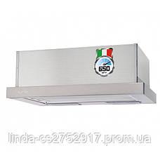 Кухонная вытяжка GARDA 50 INOX (650) IT VentoLux, фото 3