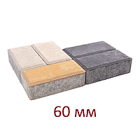 Тротуарная плитка толщина 60 мм (6 см)