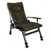 Кресло карповое М-ЭлектростатикF5R с подлокотниками