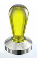 Темпер для кофе 58 мм Motta Rainbow желтый, фото 1