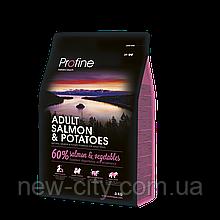 Profine ADULT SALMON & POTATOES 3kg  Лосось и картофель для взрослых собак