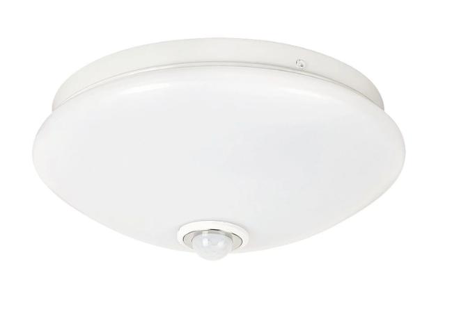 Потолочный светодиодный светильник LTL 15w диаметр 30 см с датчиком движения, 5000k