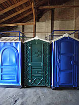 Пластиковый туалет дачный, фото 2