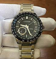 Citizen Satellite Wave World Time Sapphire-CC3005-85E