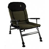 Кресло карповое  М-Электростатик FK5P с подлокотниками