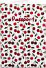 Аппетитная на вид женская обложка для паспорта из кожезаменителя PASSPORTY (ПАСПОРТУ) KRIV044