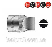 "1/2"" Головка-бита шлицевая цельная 19 мм, L=38 мм"
