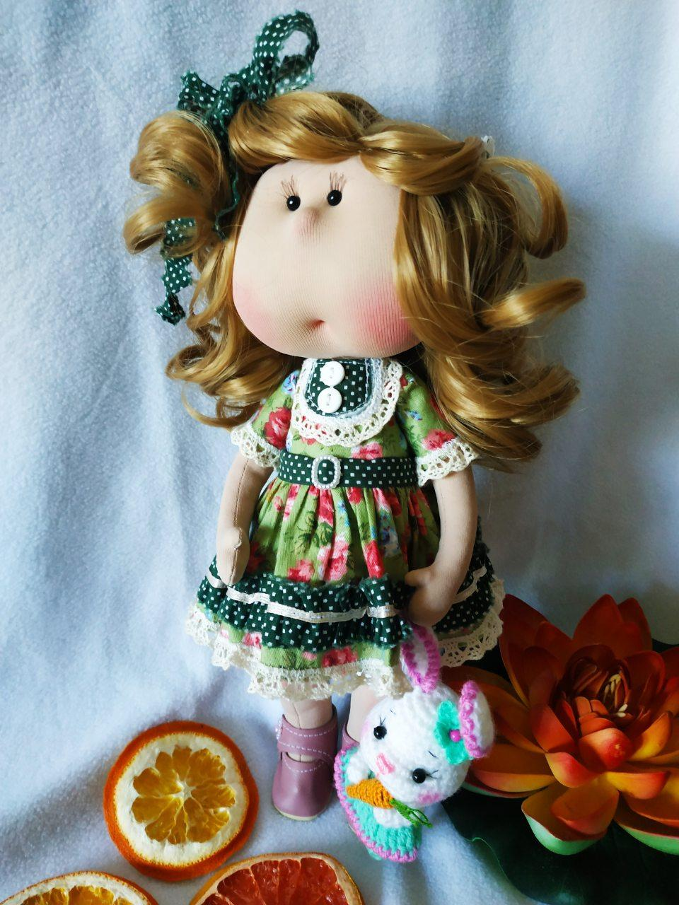 Кукла ручной работы Маруся