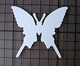 Вирубка з картону. Метелик силует, 58х64 мм, фото 2