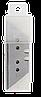 Леза трапецеєвидні, 18 мм (5 шт)