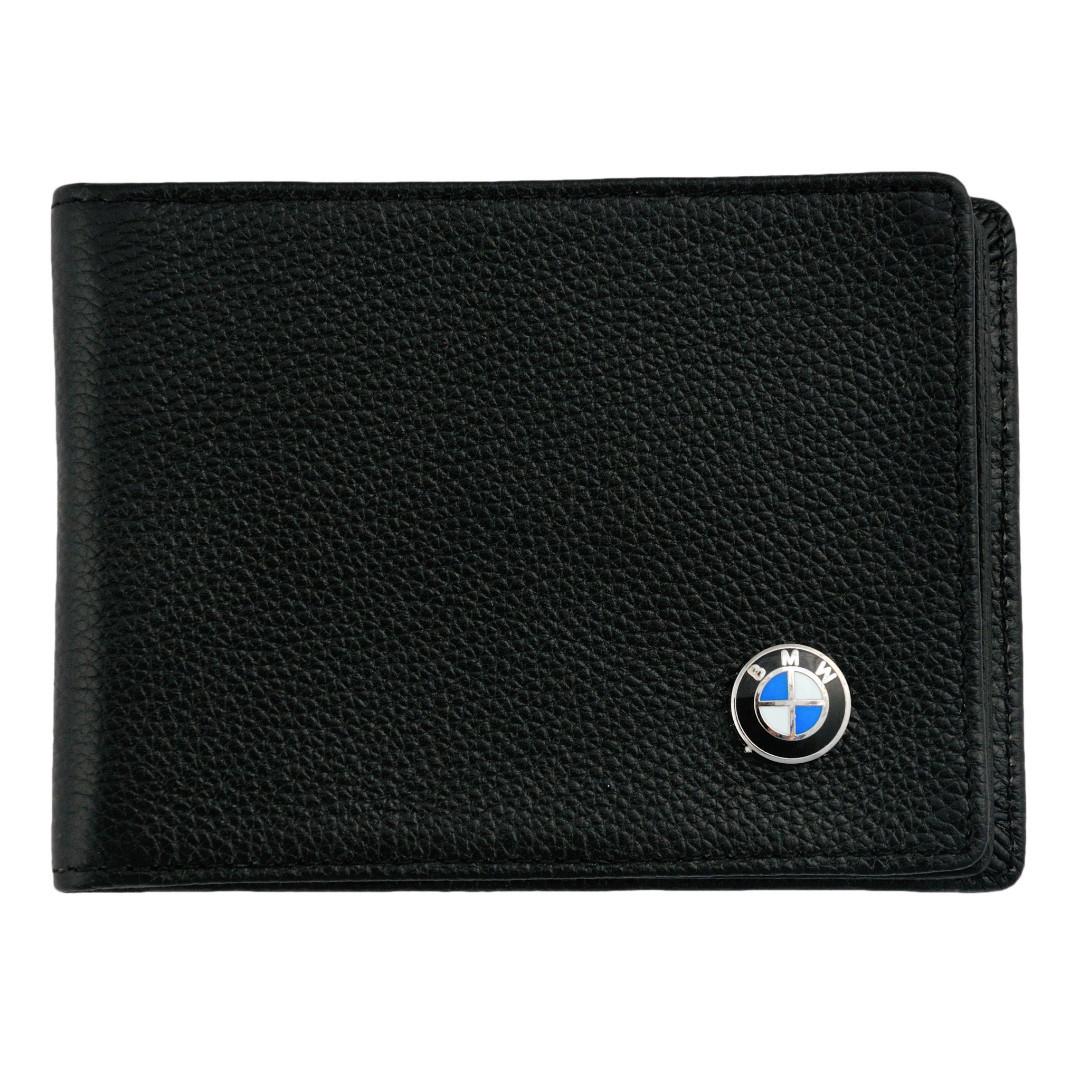 Кожаная обложка для прав AZU с логотипом BMW