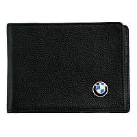 Кожаная обложка для прав AZU с логотипом BMW, фото 1
