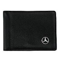 Кожаная обложка для прав AZU с логотипом Mercedes-Benz