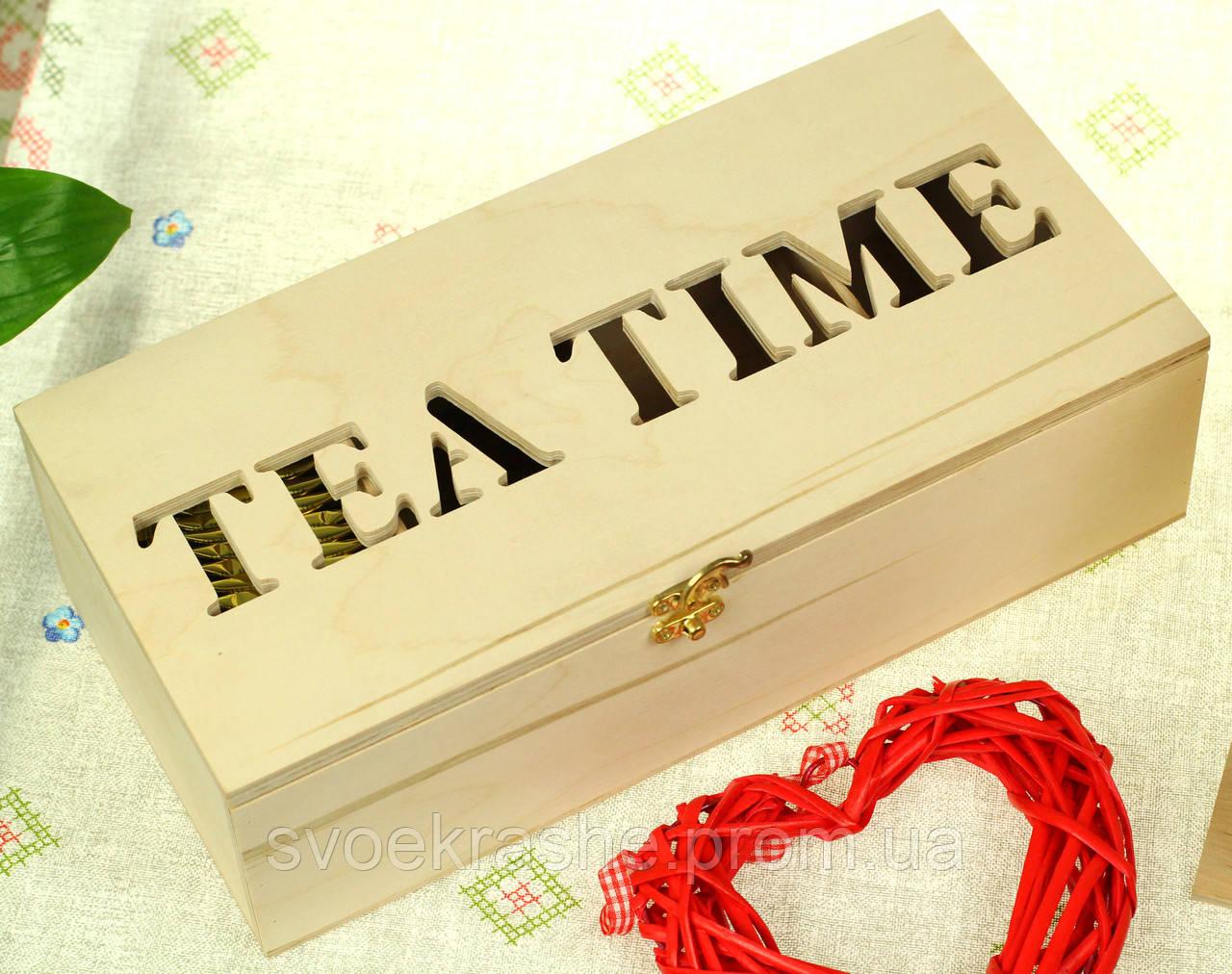 827a63984324d Декоративный деревянный ящик для чая