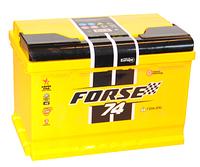 Аккумулятор Forse 6СТ-74 R+