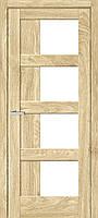 Межкомнатная дверь Рино 08 G NL дуб Саванна, фото 1