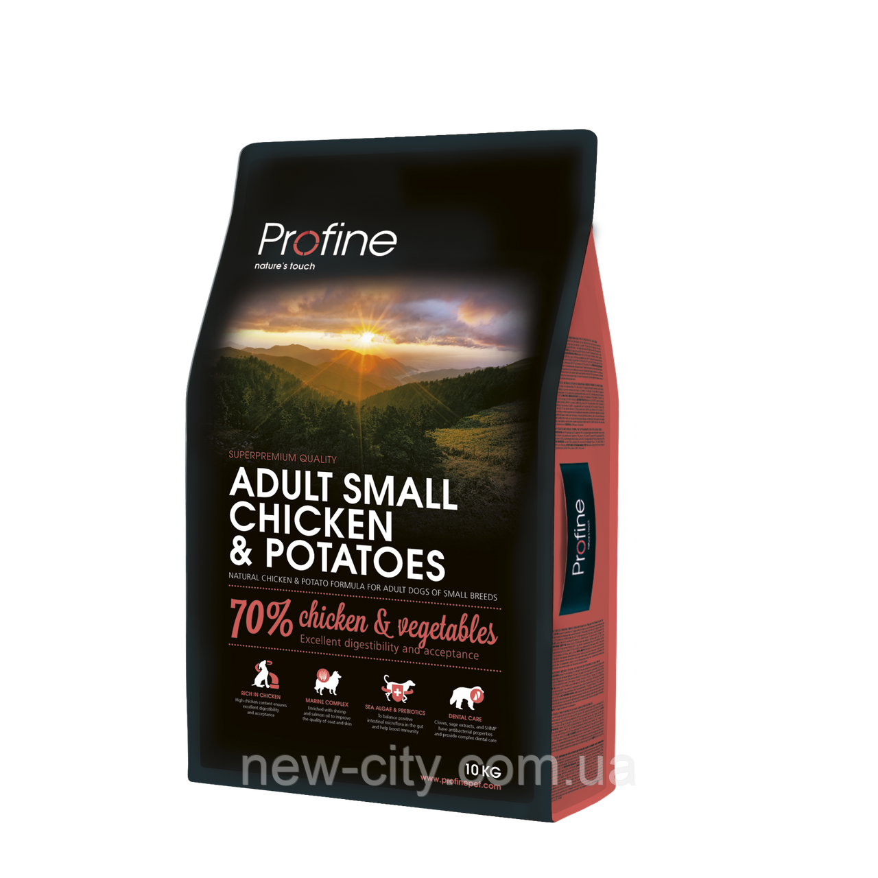 Profine Adult Small CHICKEN & POTATOES 10kg Корм для взрослых собак малых пород