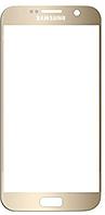 Стекло (для ремонта дисплея) для Samsung G930F Galaxy S7/G930FD Galaxy S7 Duos, с OCA пленкой, цвет золотой
