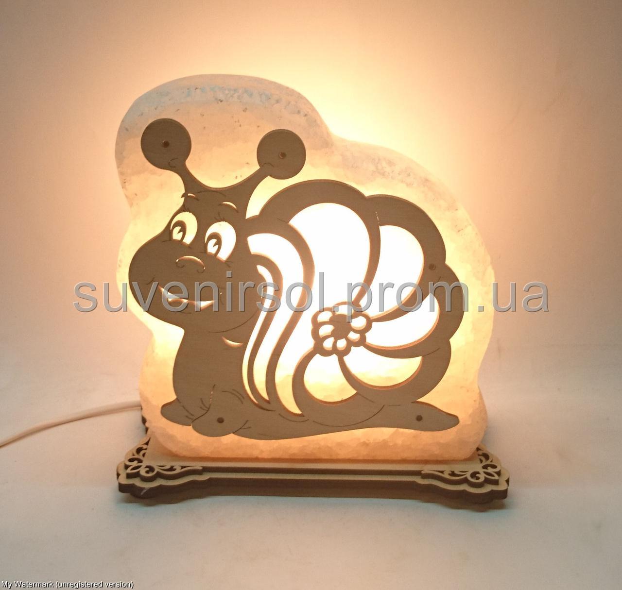 Соляная лампа Улитка Большая