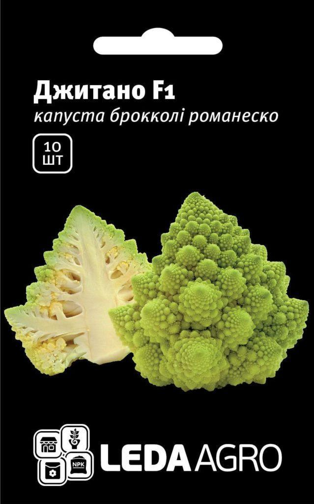 Семена капусты броколи романеско Джитано F1 10 шт
