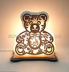 Соляна лампа Ведмедик Б3