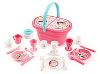 Корзинка Smoby Disney Princess с набором для пикника 310573