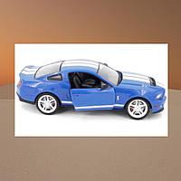 Машинка на радиоуправлении 1к14 Meizhi лицензированный Ford GT500 Mustang. синий - 139605