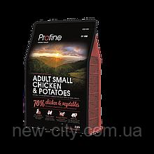 Profine Adult Small CHICKEN & POTATOES 2kg Корм для взрослых собак малых пород