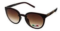 Солнцезащитные очки коричневые женские Luoweite