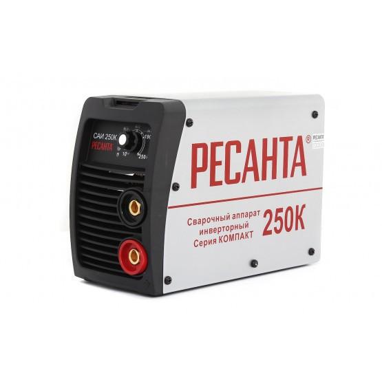 Сварочный аппарат инверторный САИ250К(компакт) Ресанта 65/38