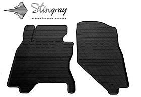 Передние резиновые коврики Infiniti G Sedan (V36) 2006-2013 (2 шт) Stingray  1033072