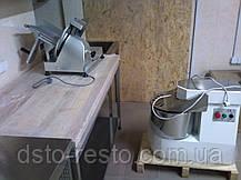 Стол кондитерский c деревянной столешницей, фото 3