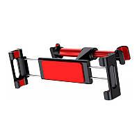 Автодержатель для планшета Baseus Back Seat Car Mount черно-красный (14167BR)