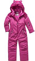 Зимний термокомбинезон Topolinoдля девочки 80 см сдельный розовый