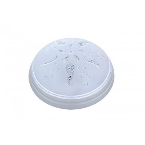 Светильник пластиковый Уфо Роза Ветров серебро, фото 2