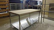 Стол кондитерский c деревянной столешницей, фото 2
