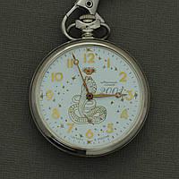Молния 2001 карманные механические часы , фото 1