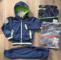 Трикотажный костюм 2 в 1 для мальчика оптом, Taurus, 98-128 см,  № F-543