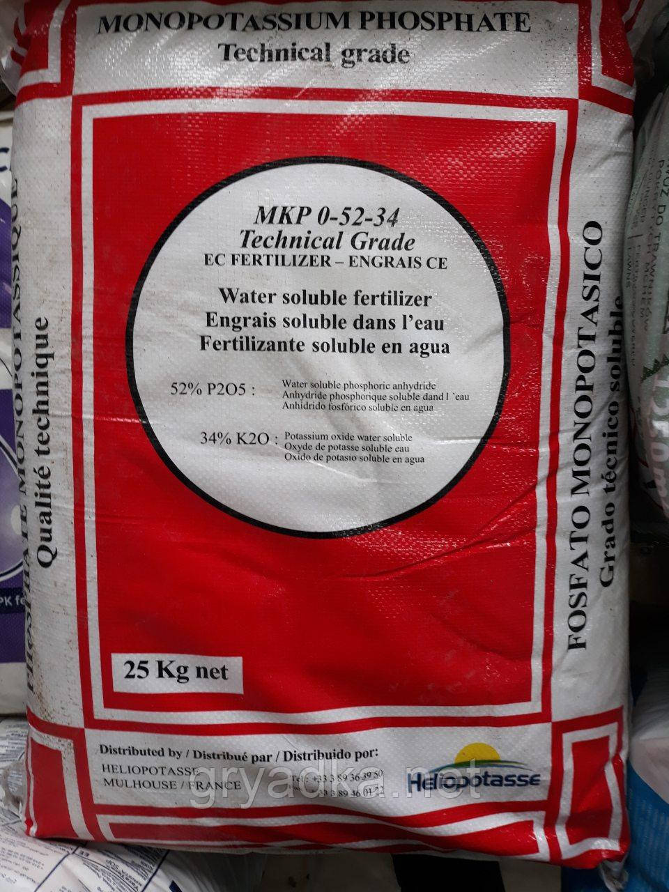 Монокалийфосфат Израиль 25 кг