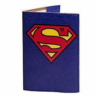 Обложка на паспорт(Супермен)