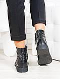 Ботинки женские кожаные весна осень, фото 3