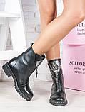 Ботинки женские кожаные демисезонные, фото 3