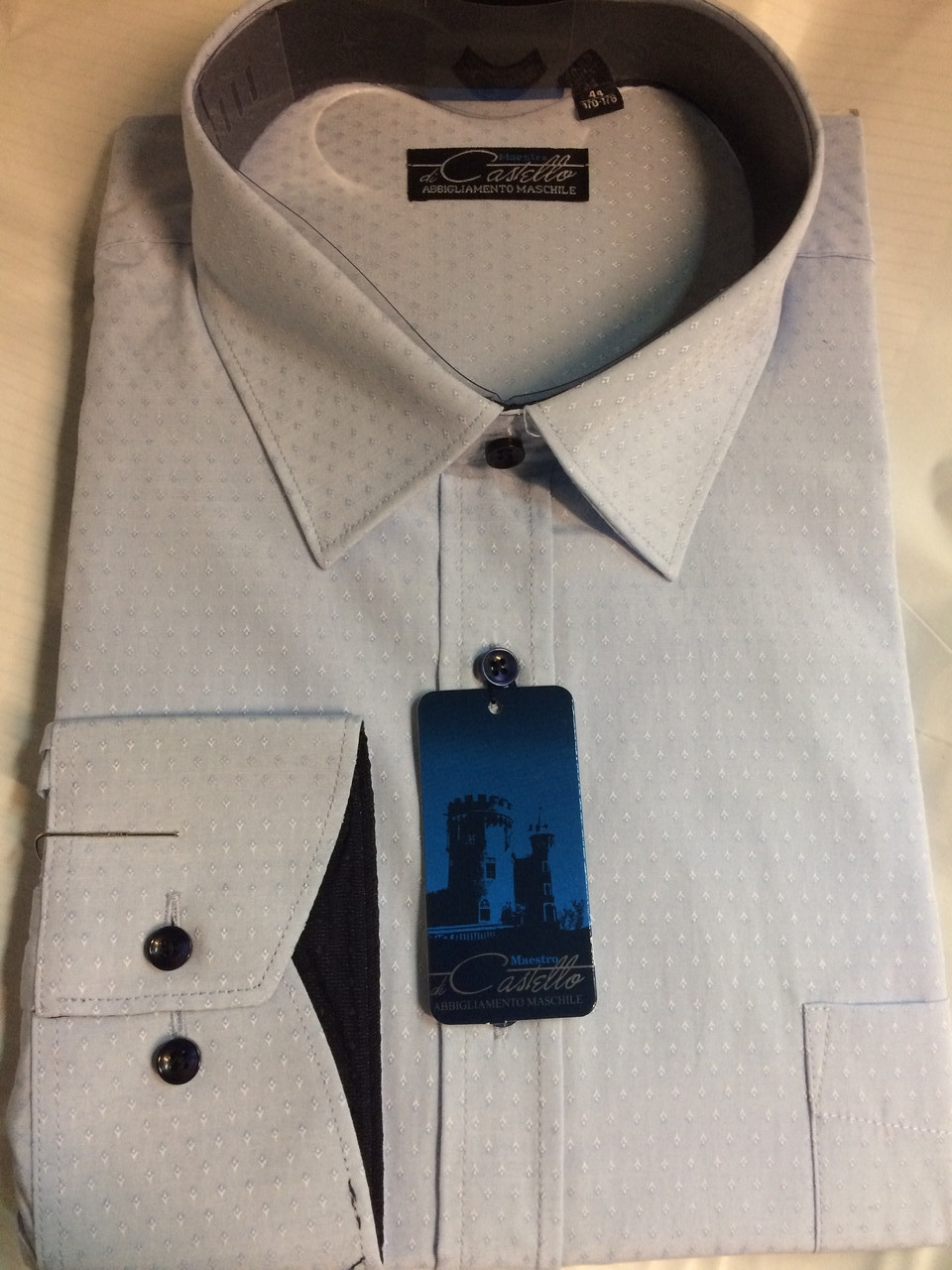 Мужская рубашка Castello модель Vichy 19 sl